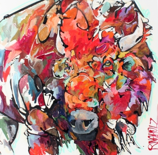 bisonpainting